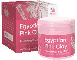 Маска Egyptian Pink Clay мини версия.