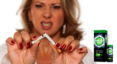 Спрей Smoke Out от курения.